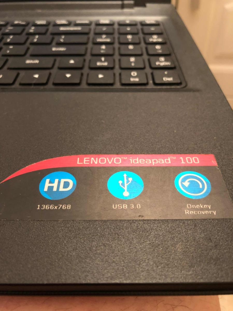 Notebook Lenovo Ideapad 100-15ibd Excelente