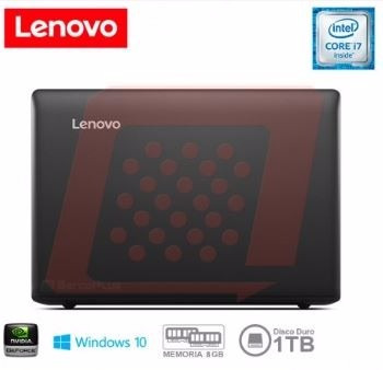 notebook lenovo ideapad 510, 15.6  hd, intel i7 7500u - new