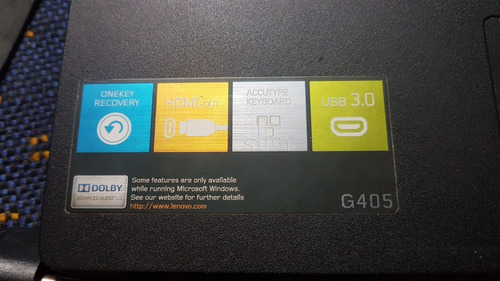notebook lenovo ideapad g405