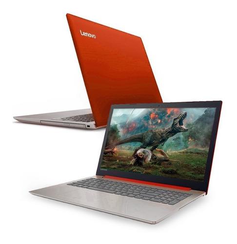 notebook lenovo ideapad intel n4000 roja 1tb 4gb 15.6