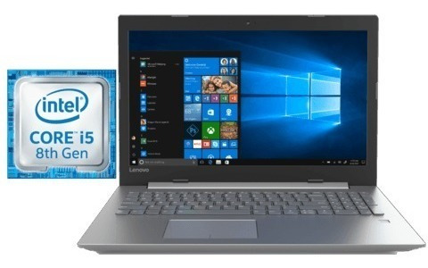 notebook lenovo ideapad slim i5 8va quad core 4gb de ram + intel optane 16gb disco de 1tb pantalla 15,6 pulgadas