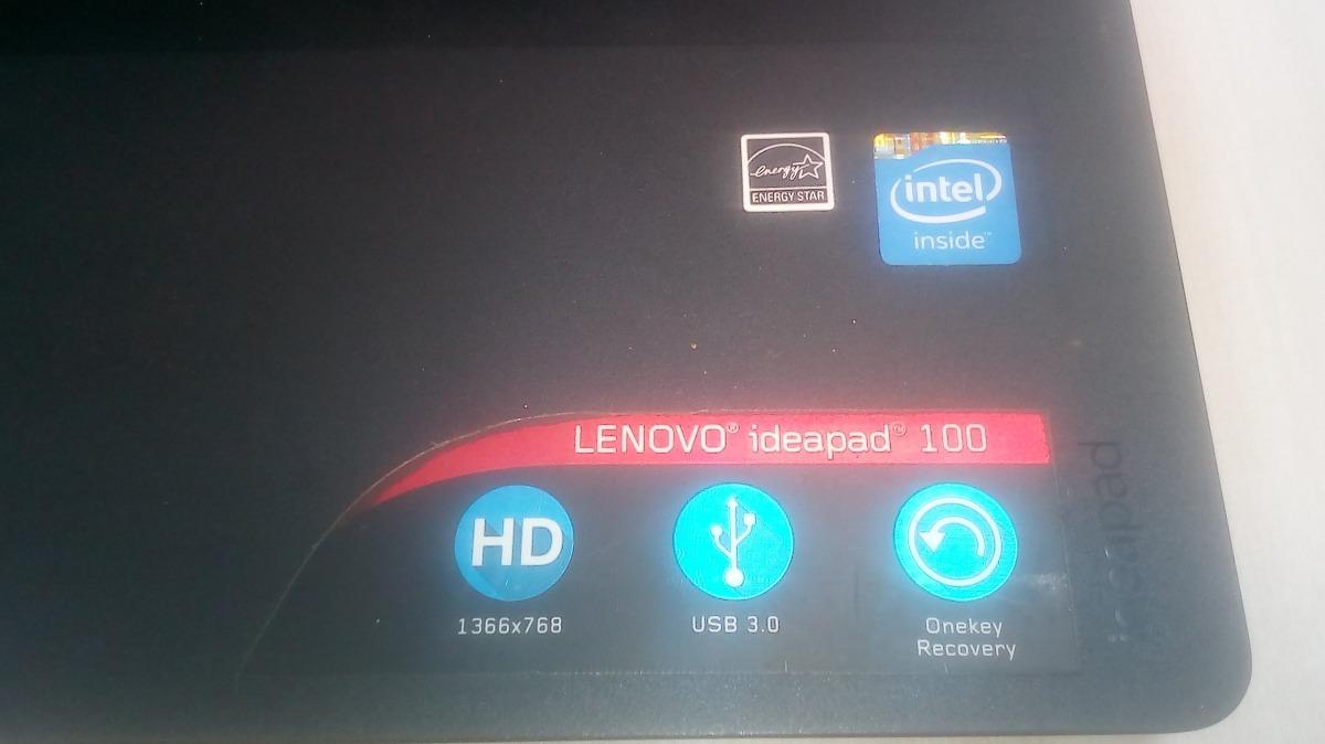 Notebook Lenovo Ideapad 100 Intel N2840/ 15,6p/ 4gb/ 500gb