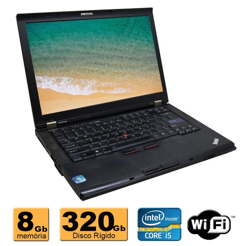 notebook lenovo intel core i5 8gb hd 320gb wifi