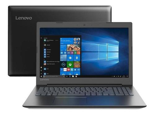 notebook lenovo intel dual core 4gb 1tb tela 15,6 hd