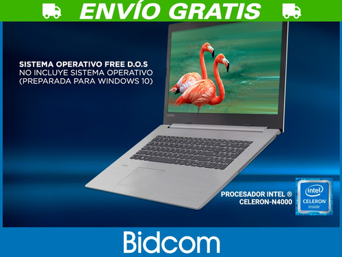 notebook lenovo intel dual core 4gb 500gb 15,6 pulgadas hdmi