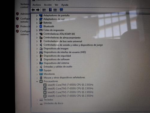 notebook lenovo ip 310 intel core i7 240gb ssd 4gb w10