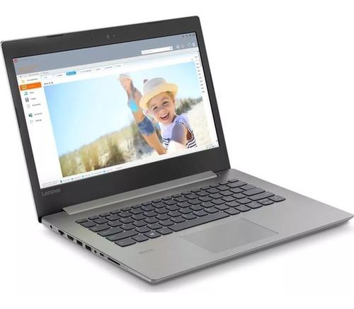 notebook lenovo ip330-14igm intel 14  4gb 500gb w10 +regalo!