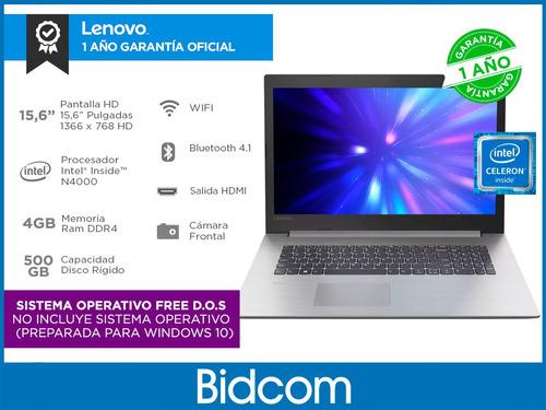 notebook lenovo ip330 intel celeron 4gb 500gb 15,6 bidcom