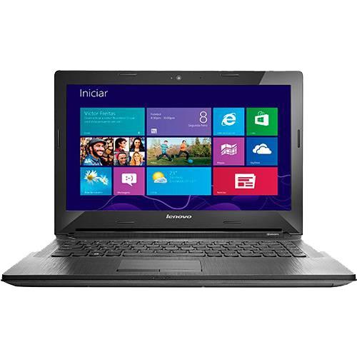 7ae755f62 Notebook Lenovo Prata G40-70 80ga000hbr I3-4005u Ram 4gb - R  1.509 ...