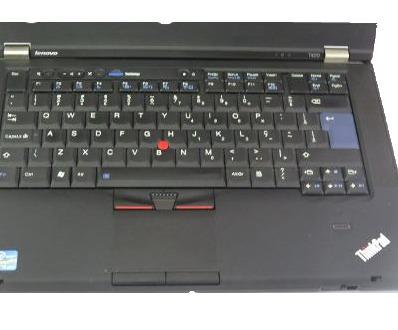 notebook lenovo t420 core i5 4gb hd320 win 7 + frete grátis!