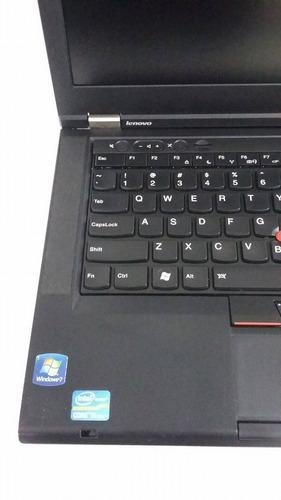 notebook lenovo t430 core i5-3320m 2.6ghz 4gb 320gb usado