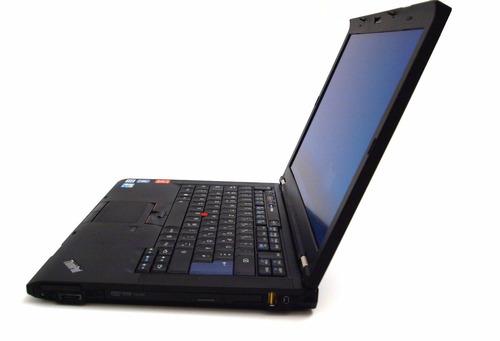 notebook lenovo thinkpad  t410 320gb hd 4gb frete gratis