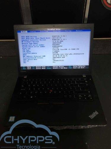 Notebook Lenovo Thinkpad T470 - I5 7300u 8gb Ddr4 Ssd 240gb