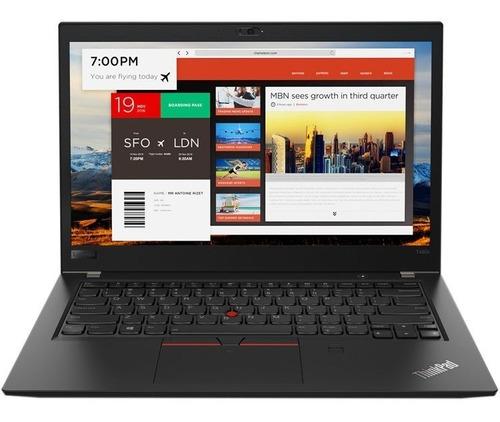 notebook lenovo thinkpad t480s i5 ssd 256gb 8gb win10p ctas
