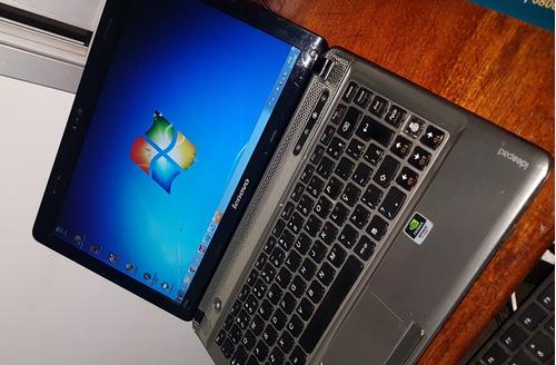 notebook lenovo z360 i5 m480 2.6ghz 3gb - usado