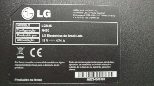 notebook lg n450 8gb memoria hd 500gb placa video integrada