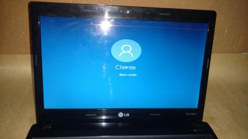 notebook lg s460 core i3 4gb 250gb windows 10 14'' led hdmi