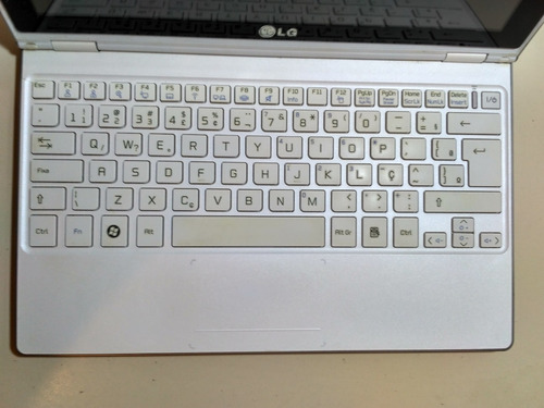 notebook - lg x300 - intel 2.0 ghz - 64 gb - usado - defeito
