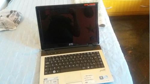 notebook marca semp toshiba com windows 7 e intel pentium