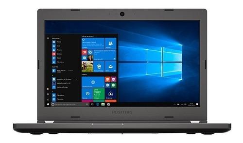 notebook master n6140 core i5 windows 10 pro 14'' - cinza