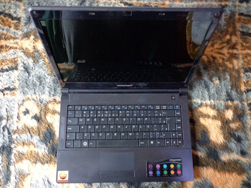 notebook megaware - modelo kripton k series + fonte