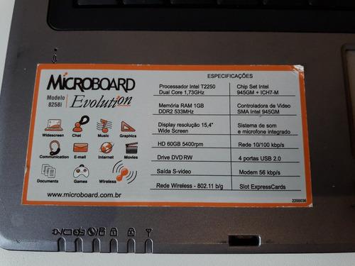 notebook microboard evolution 8258i