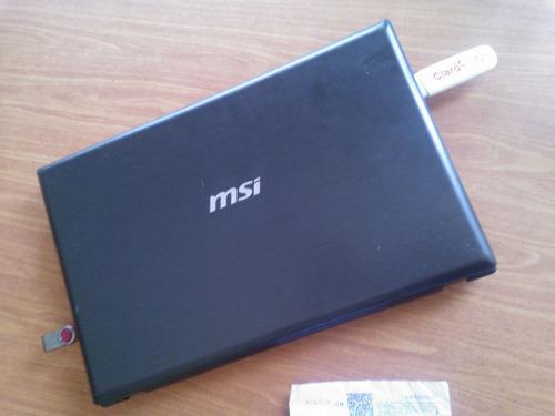 notebook msi core