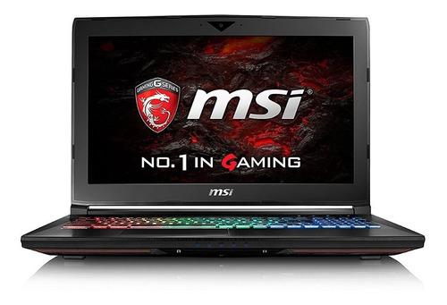 notebook msi gamer nuevo i7 16gb 256 1tb gtx1060 bajo pedido