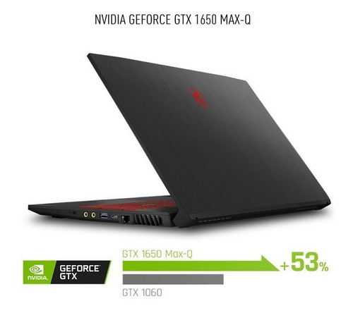 notebook msi gf75 i7 9750h 8gb ssd512 gtx1650 17 2,2kg 120hz