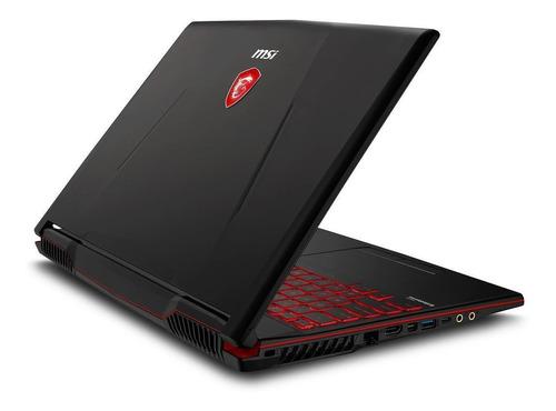 notebook msi gl73 i7 8va hexa core 8gb ram ssd 512gb nvidia gtx1660ti 6gb gddr6 17,3 pulgadas