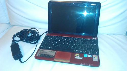 notebook msi u135dx a reparar