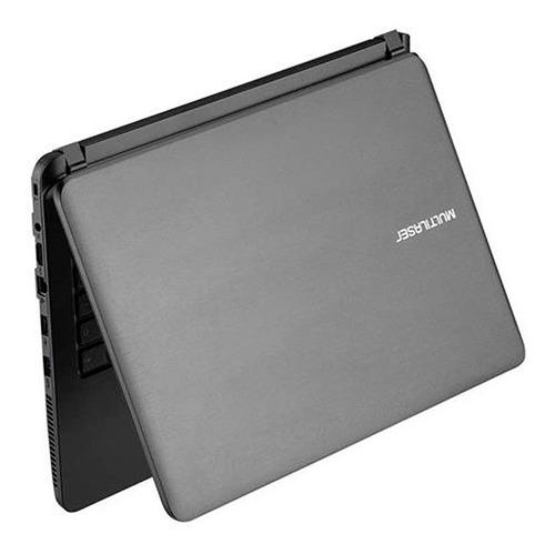 notebook multilaser intel core i3-5005u hdmi usb 4gb ssd 120gb pc400 windows 10 original garantia nota fiscal oferta