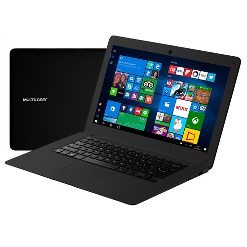notebook multilaser legacy com intel® atom x5-z8350 - pc101