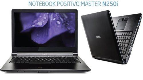 notebook n250i intel i3 4gb hd 500gb top original hdmi novo