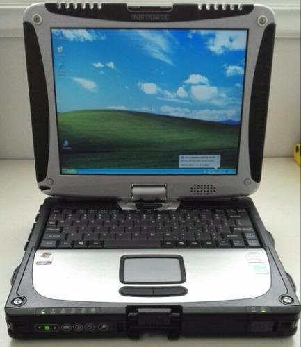 notebook panasonic toughbook cf-19 procesador i5 4gb 500gb