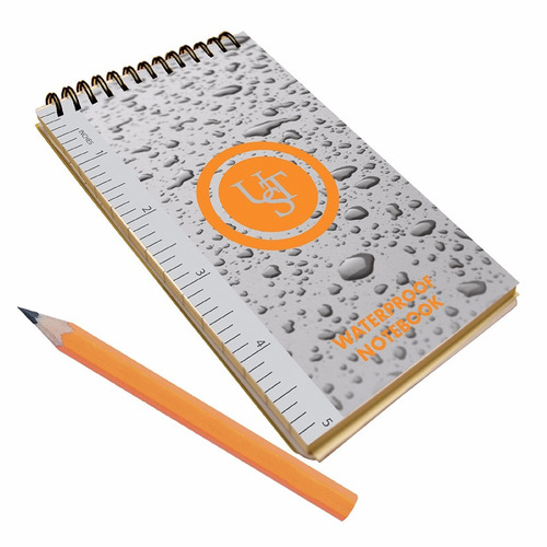 notebook papel impermeable  3 × 5 survival tool