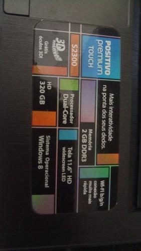 notebook positivo 11.6  touchscreen