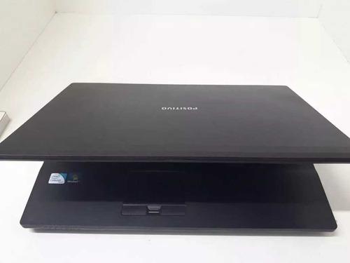 notebook positivo corp intel 4gb xci  dvd intel xri windows