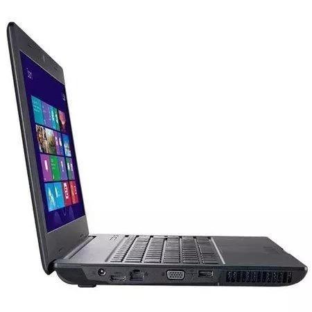 notebook positivo dual core 2gb 250gb tela 14 windows 8