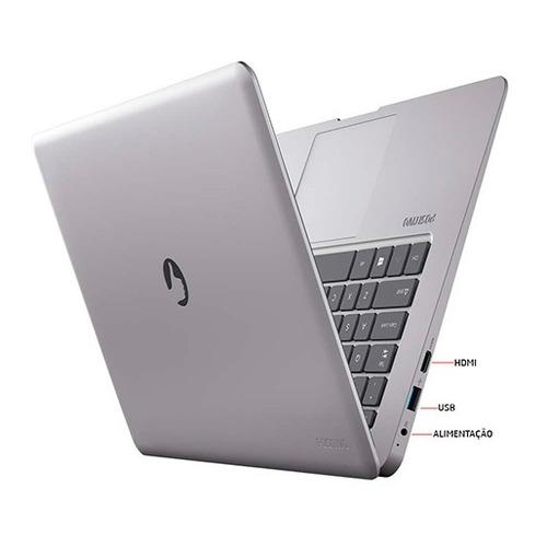 notebook positivo intel quad core 2gb hd 32gb - promoção