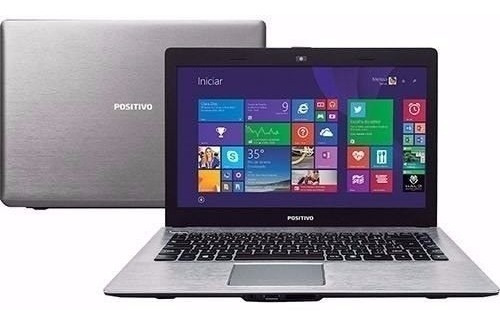 notebook positivo intel ultrafino 2gb 320gb wifi hdmi webcam