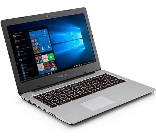 notebook positivo motion i3 tela 15.6 hd 64gb 4gb ram