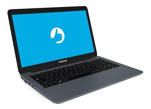 notebook positivo motion i541tai intel core i5 4gb 1tb hd tela 14  linux