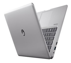 notebook positivo motion q232a quad core 2gb 32gb ssd 14  wi