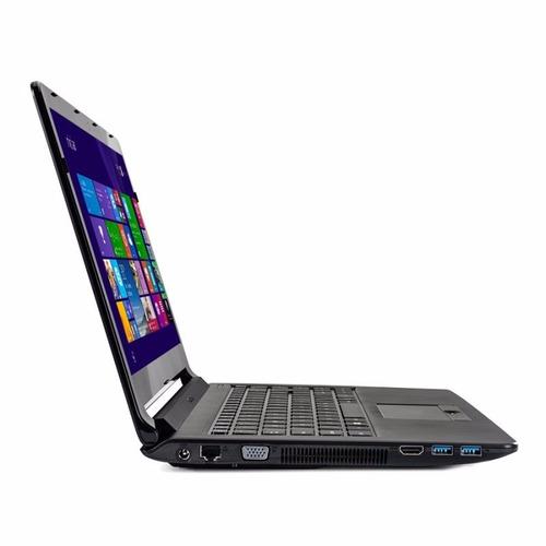 notebook positivo n250i intel core i3 4gb hd 500gb novo top