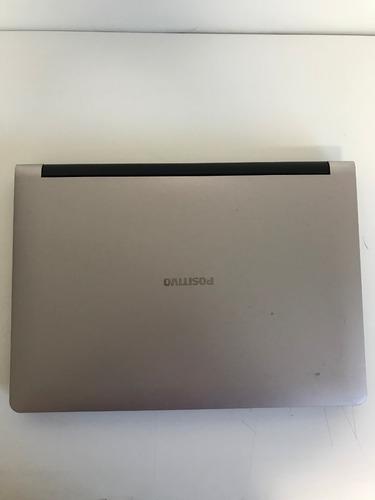 notebook positivo premium xs7010 i3 4005u 4gb 500gb - cod6