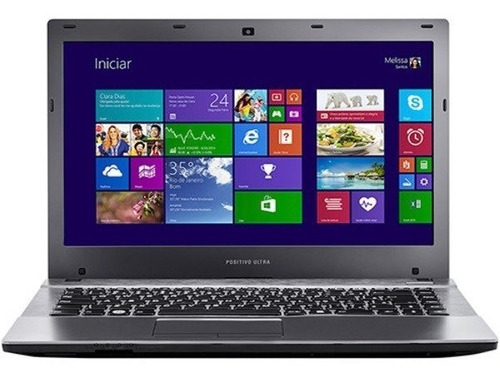 notebook positivo s4000 14' intel i5 4gb 500b dvd hdmi vga nf