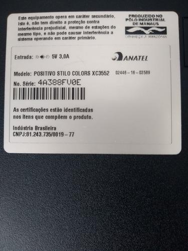 notebook positivo stilo colors xc3552