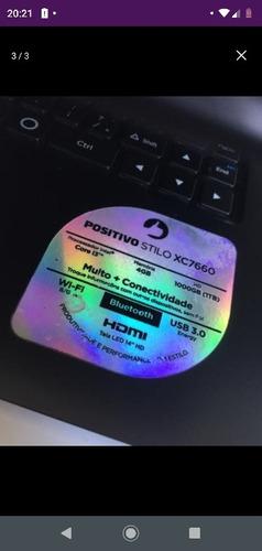 notebook positivo stilo xc7660