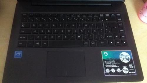 notebook positivo xc3570 2gb 32ssd 14  cinz win 10